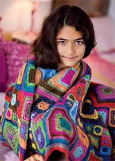 Babette Blanket by Kathy Merrick
