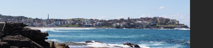 gratuitous Bondi beach panorama - 'cos new camera!