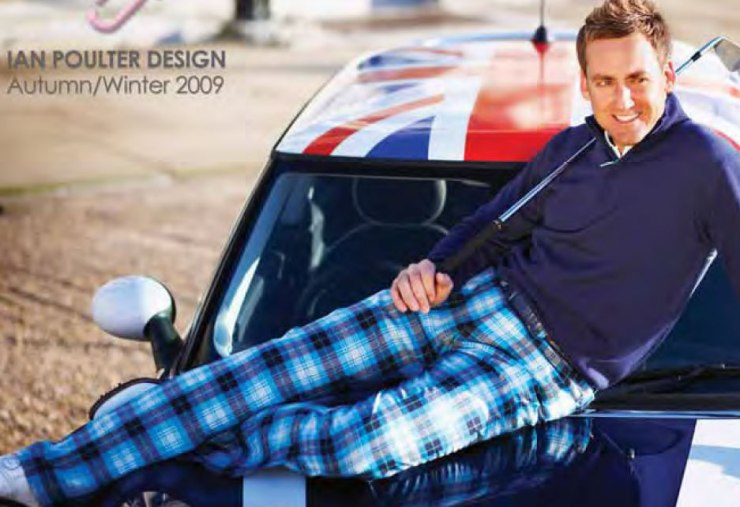 Ian POulter looking terribly come hither