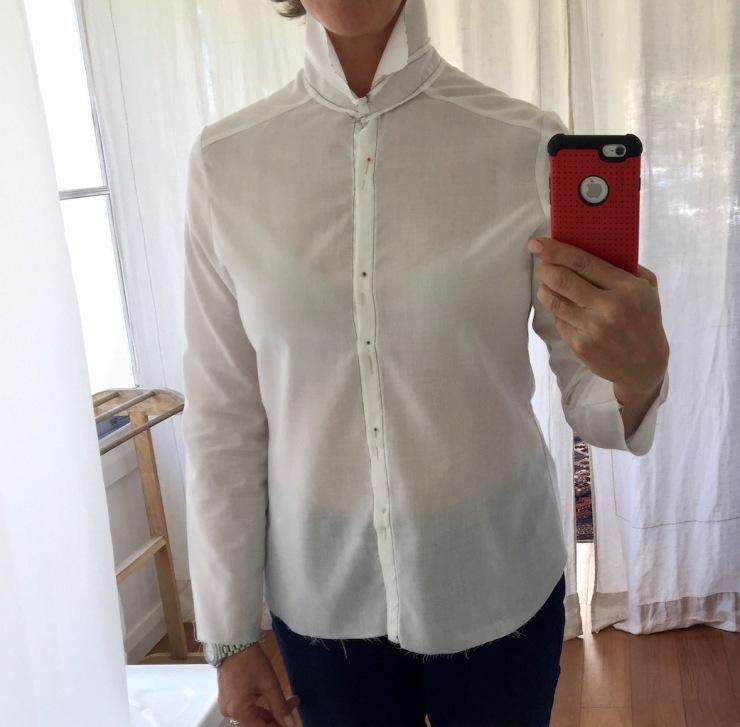 #1 shirt, too tight