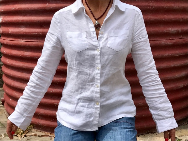 linen shirt copied from an old favourite Billabong shirt